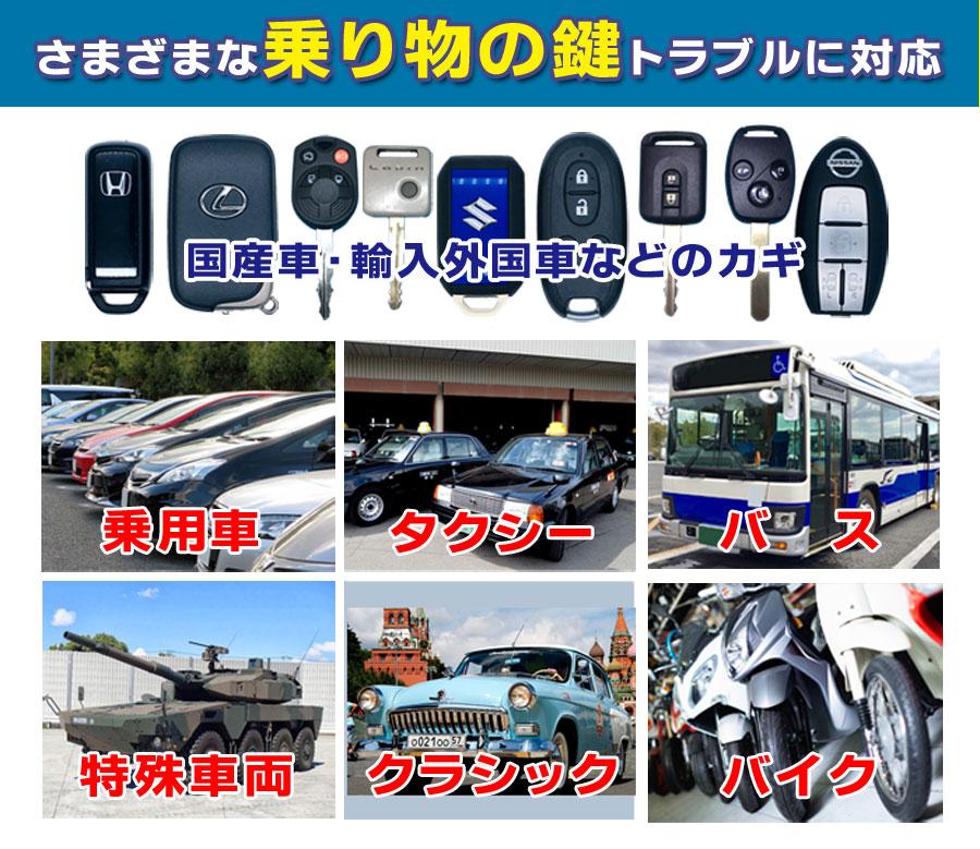 車バイクなどの鍵の事なら広島鍵屋アドロック