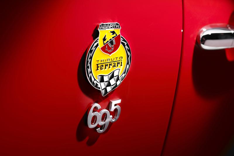 アバルト695トリブート・フェラーリのスペアキー作成 広島鍵屋アドロック