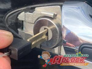 レクサス LS600のスマートキー 鍵屋アドロック