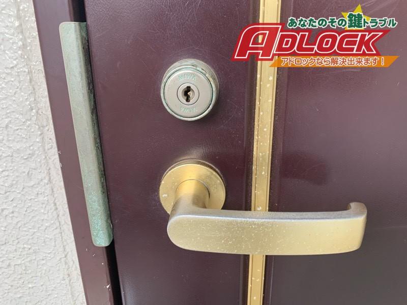 玄関ドアシリンダー交換