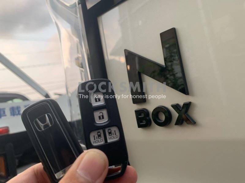 N BOX 鍵作製