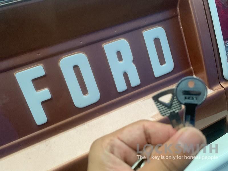 フォードブロンコ イグニッションキー復元